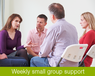 troubled support teen family group